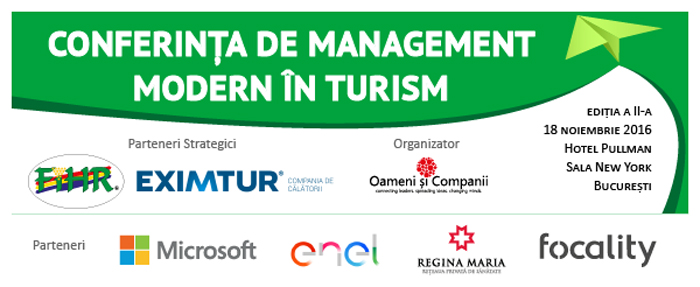 Conference of Modern Management in Tourism